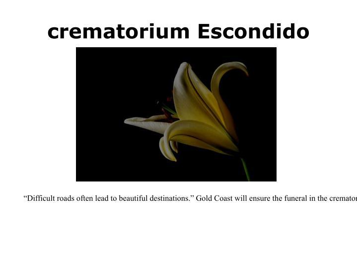 crematorium Escondido