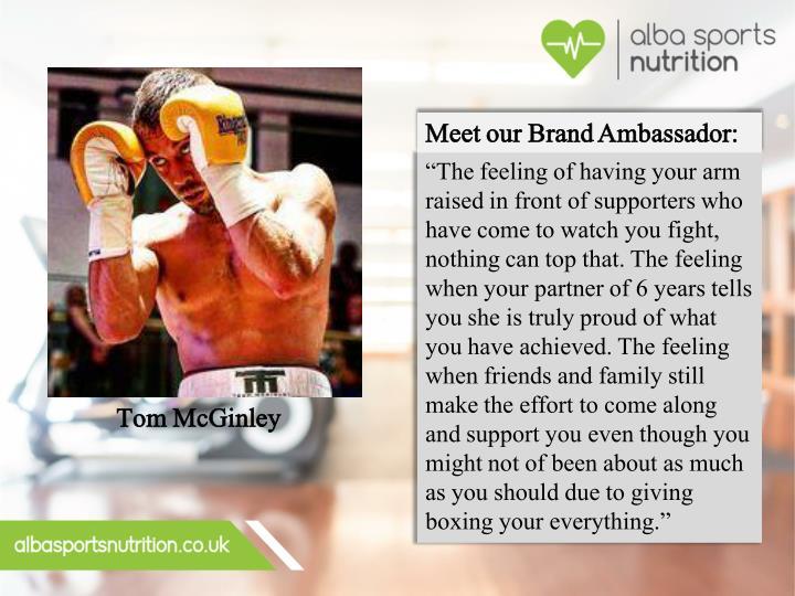 Meet our Brand Ambassador: