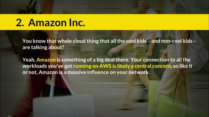2.  Amazon Inc.