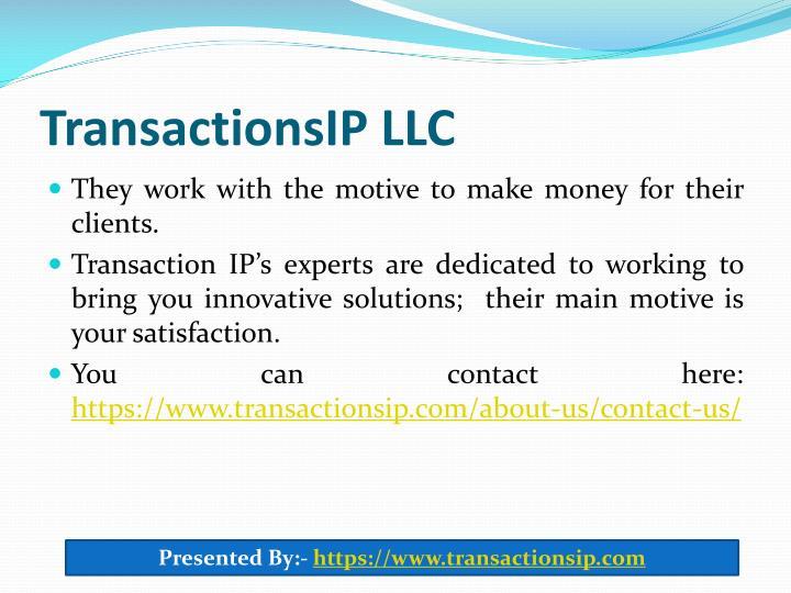 TransactionsIP