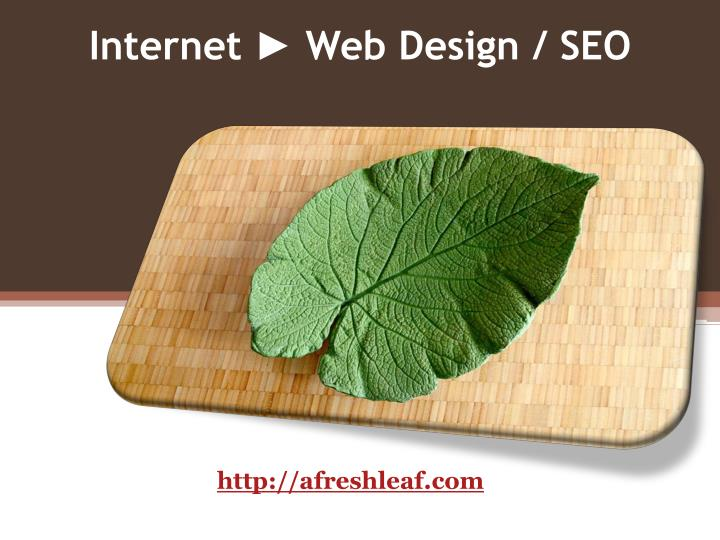 Internet ► Web Design / SEO