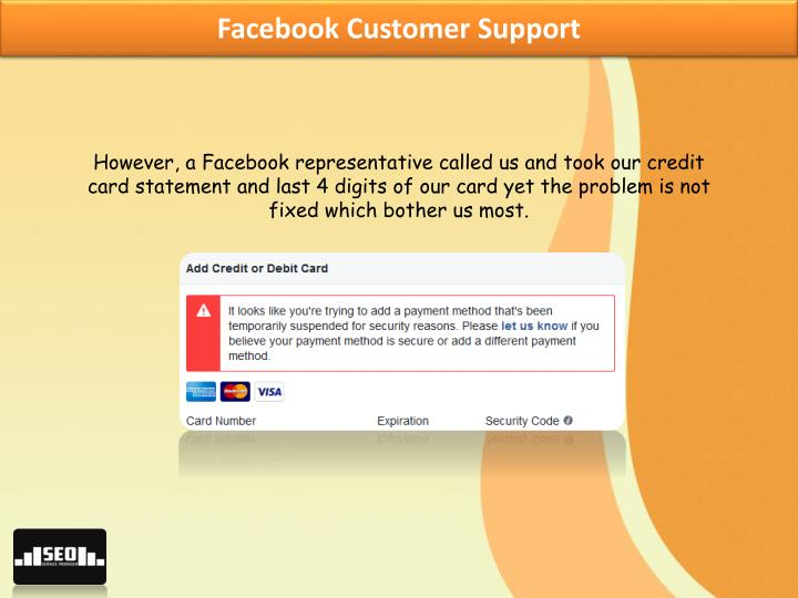 Facebook Customer