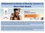 hollywood institute of beauty careers in west palm beach