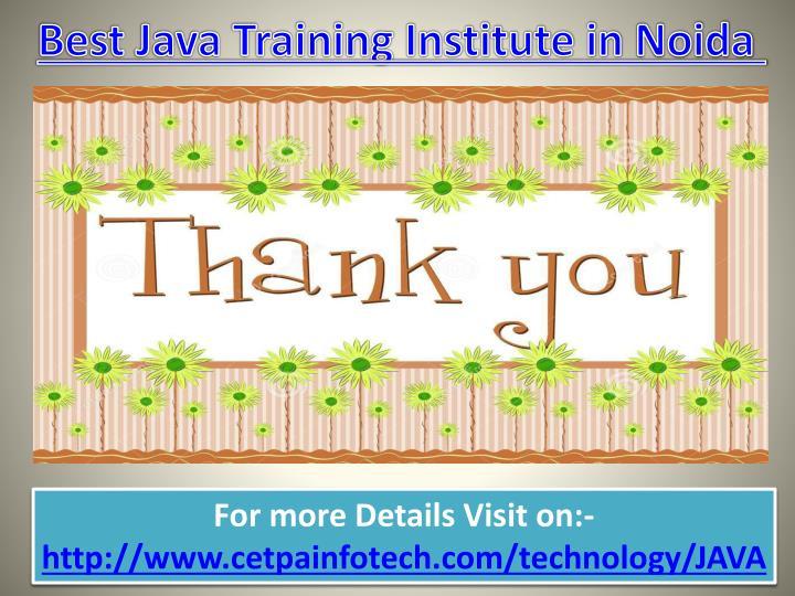 Best Java Training Institute in