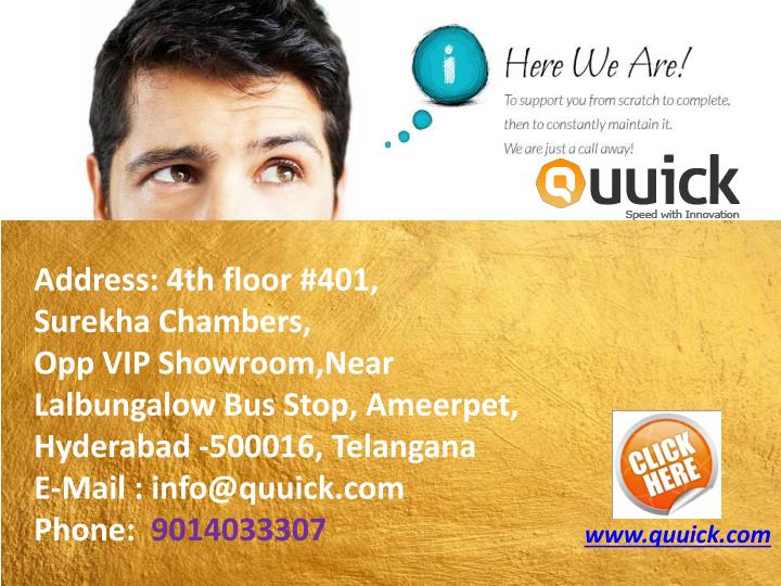 Address:4th floor #401,