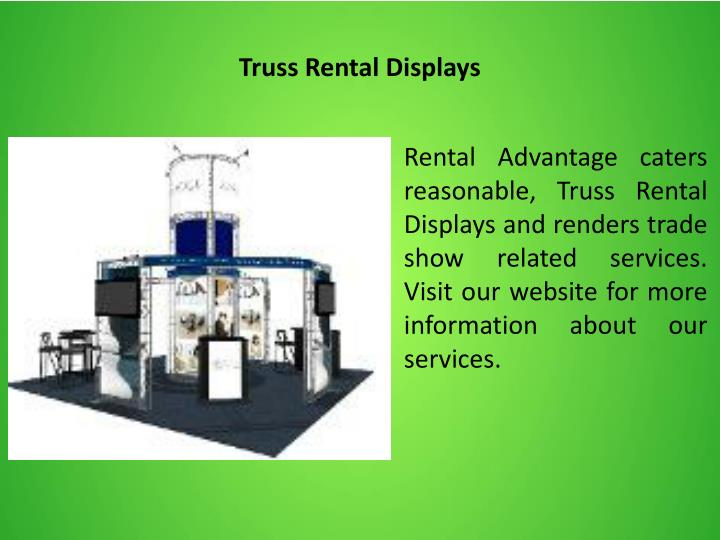 Truss Rental Displays