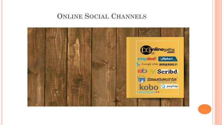 Online Social Channels