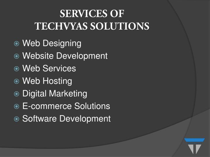 SERVICES OF