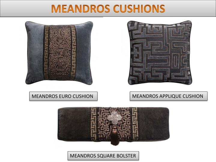 MEANDROS CUSHIONS