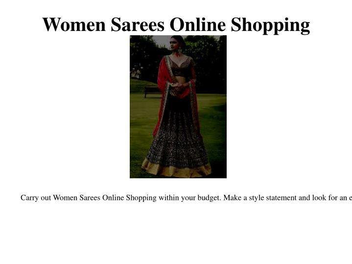 Women Sarees Online Shopping