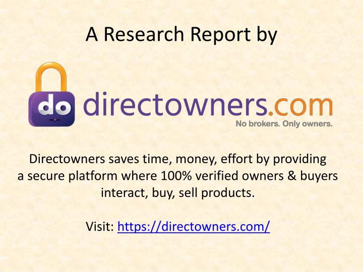 A Research Report by