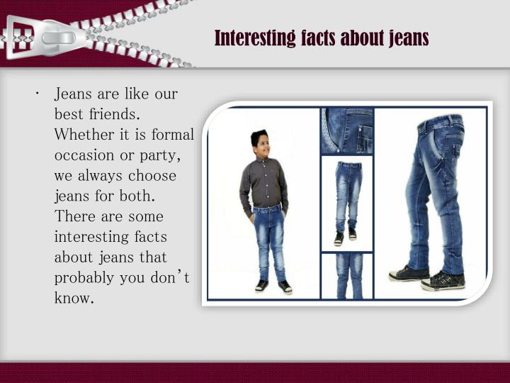 Interesting facts about jeans