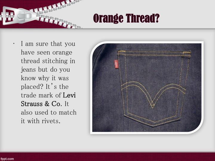 Orange Thread?