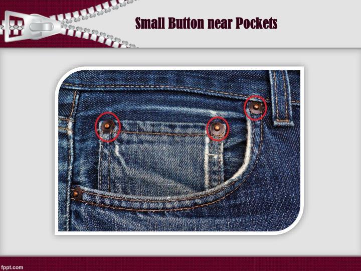 Small Button near Pockets
