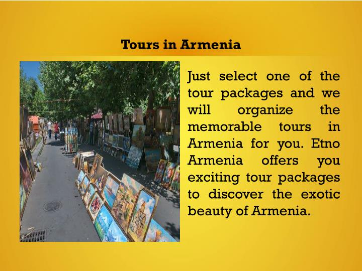 Tours in Armenia