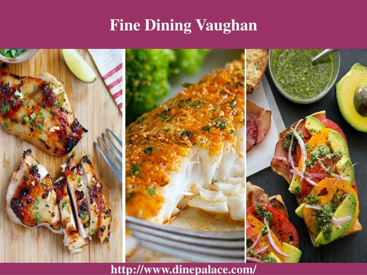 Fine Dining Vaughan