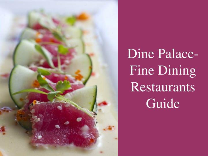 Dine Palace- Fine Dining Restaurants