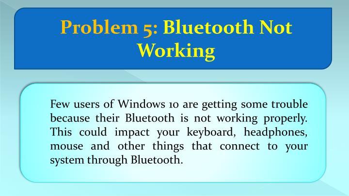 Problem 5: