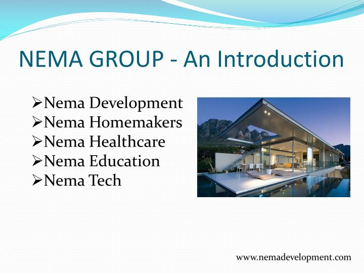 Nema group an introduction
