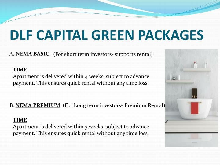 DLF CAPITAL GREEN PACKAGES