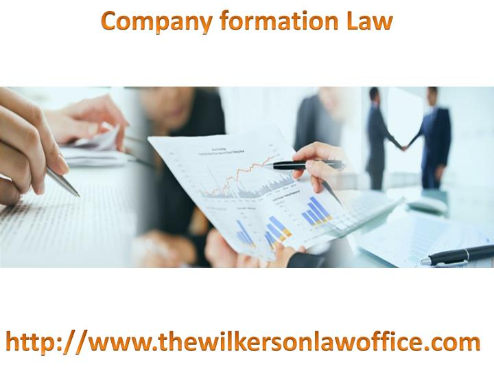 Company formation Law