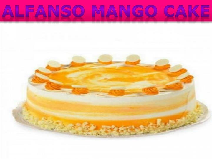 Alfanso Mango Cake