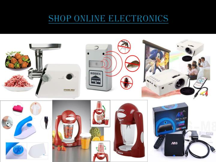 Shop Online Electronics