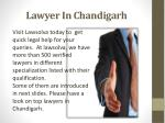 lawyer in chandigarh