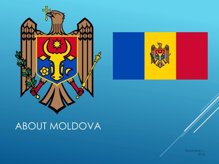 About Moldova