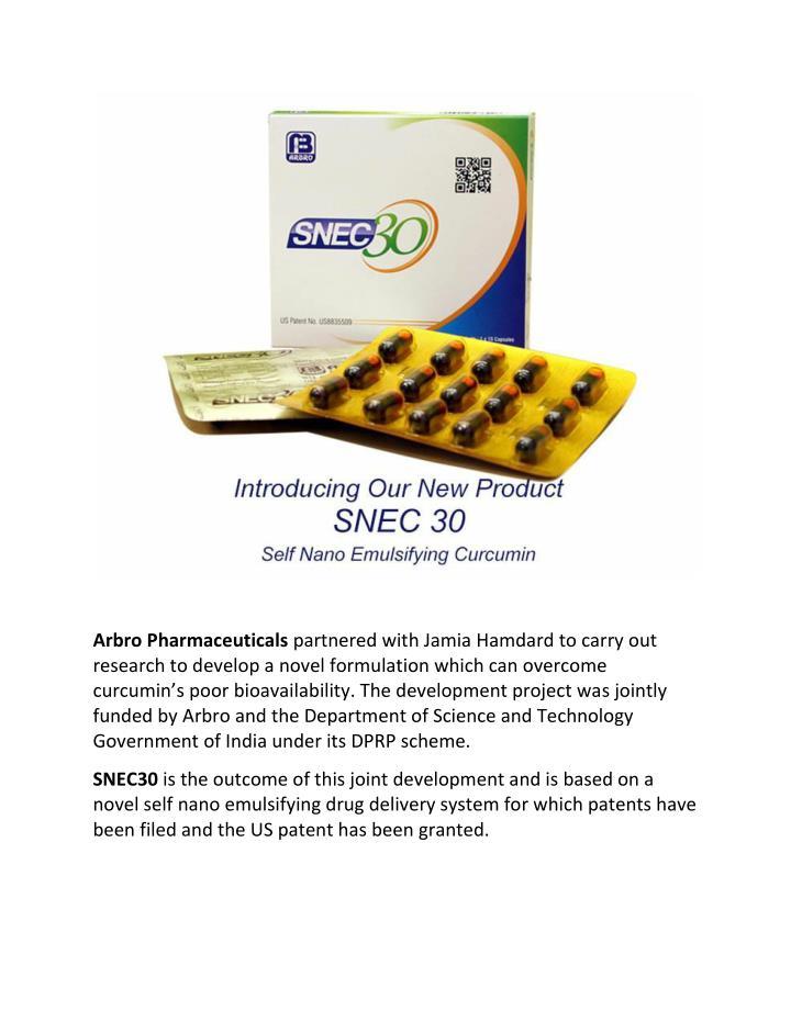 Arbro Pharmaceuticals