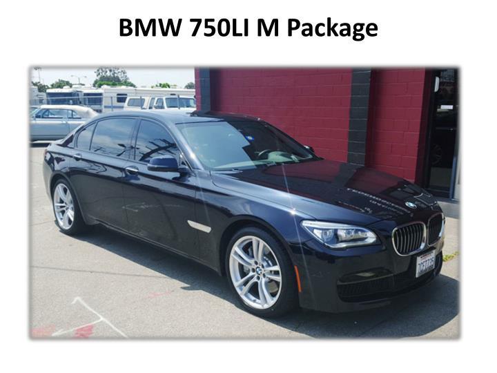 BMW 750LI M Package