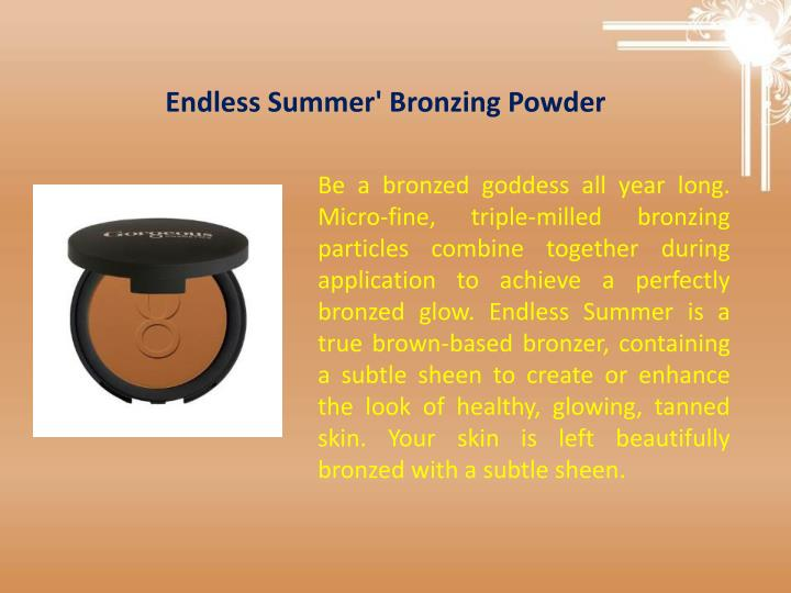 Endless Summer' Bronzing Powder