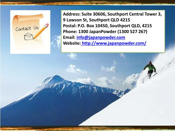 Address:Suite 30606, Southport Central Tower 3, 9 Lawson St, Southport QLD 4215