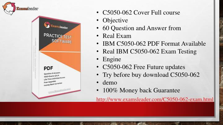 C5050-062 Cover Full course