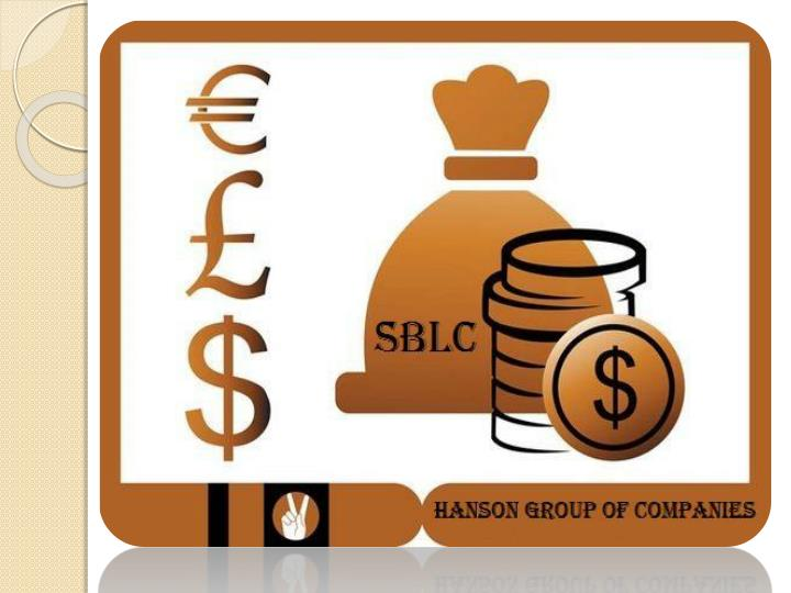 Terms conditions of standby letter of credit sblc
