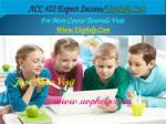 acc 422 expect success uophelp com1