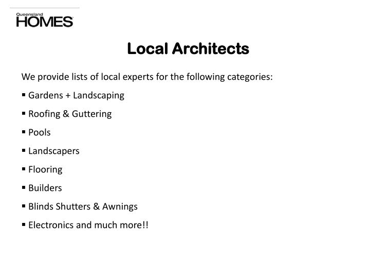Local Architects
