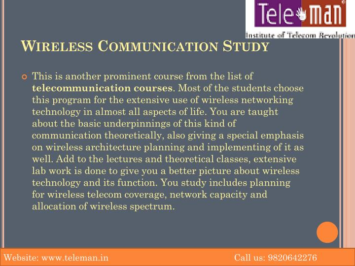 Wireless Communication Study