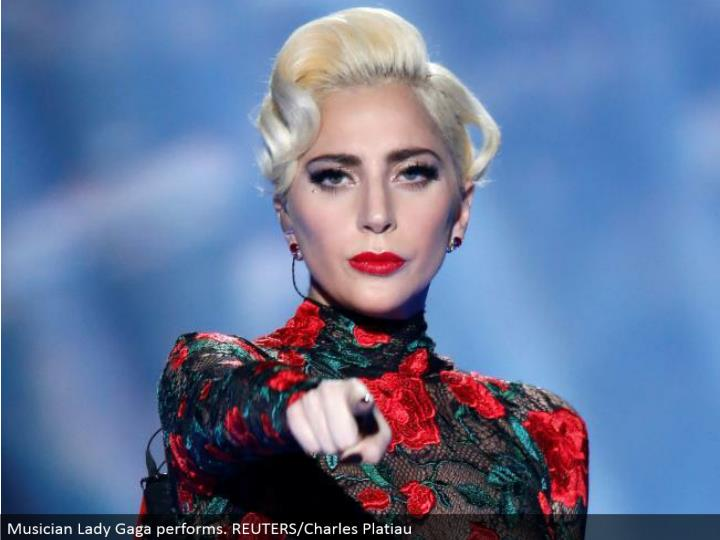 Musician Lady Gaga performs. REUTERS/Charles Platiau