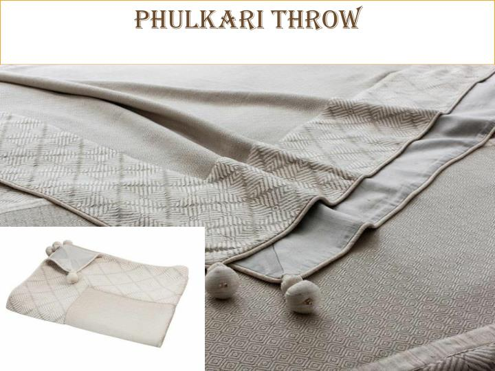 PHULKARI Throw