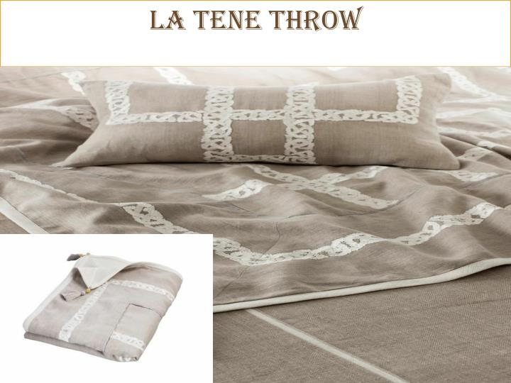 LA TENE Throw