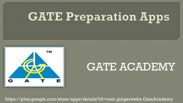 gate preparation apps