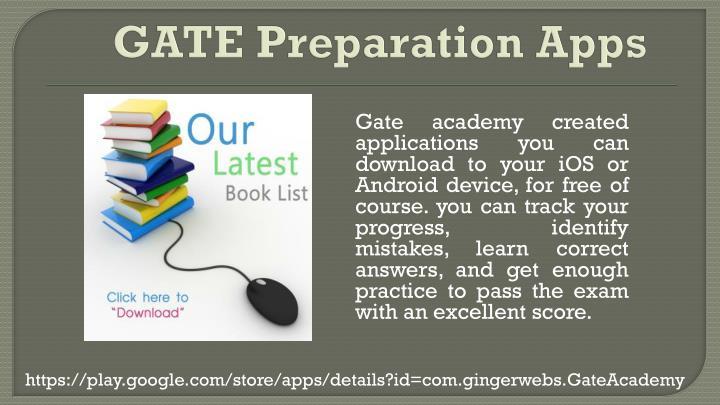 GATE Preparation Apps