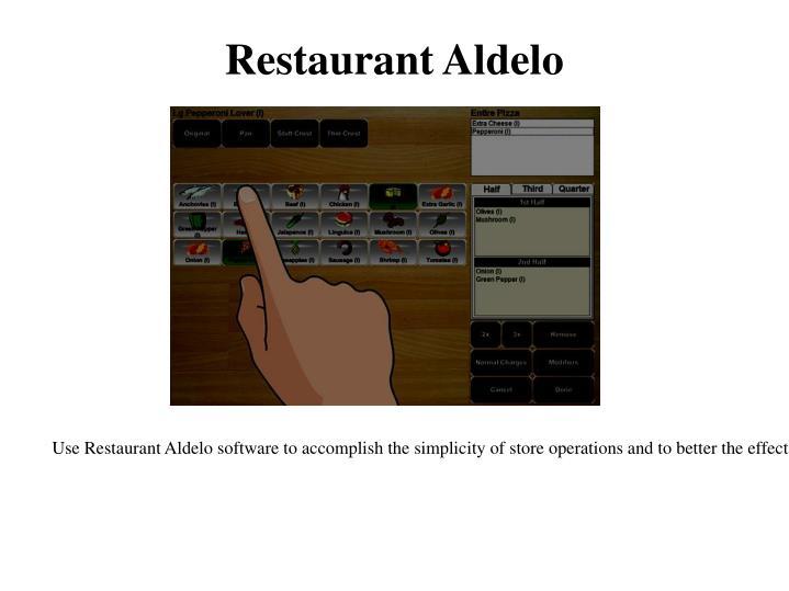 Restaurant Aldelo