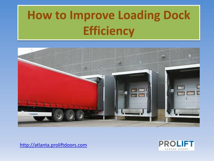 How to improve loading dock efficiency