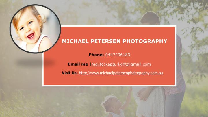 MICHAEL PETERSEN PHOTOGRAPHY