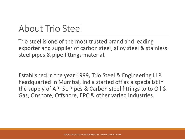About Trio Steel