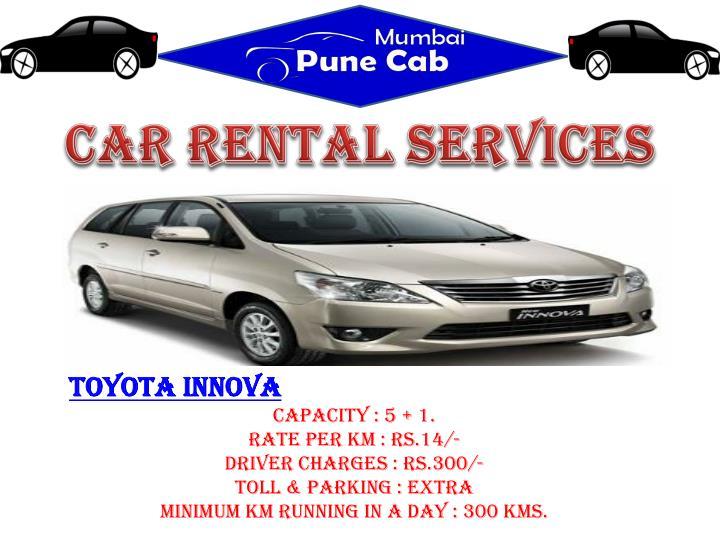 CAR RENTAL SERVICES