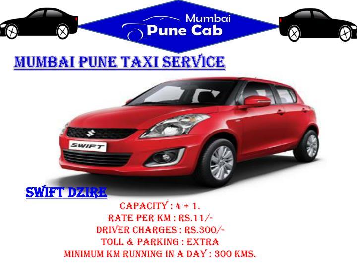 Mumbai Pune taxi service