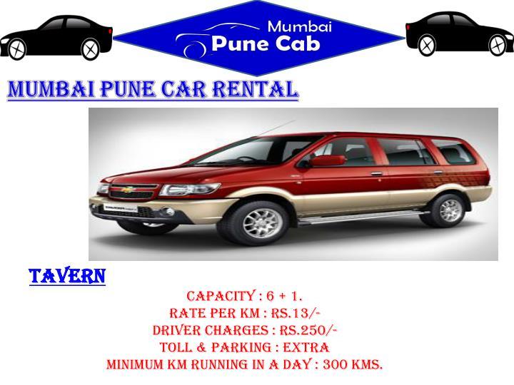 Mumbai Pune Car Rental